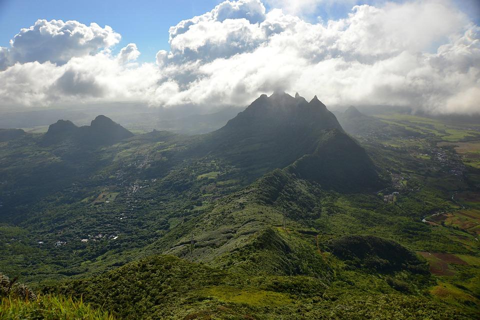 Montagne en Île Maurice